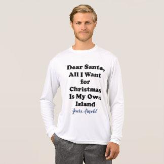 Camiseta Tshirt engraçado do Natal para homens