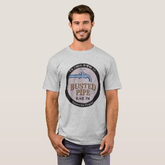 Camiseta Tubulação rebentada