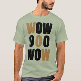 Camiseta uau orng