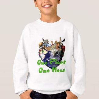Camiseta Um coração do planeta um