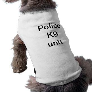 Camiseta Unidade da polícia K9