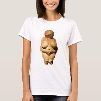 Camiseta Venus da arte antiga de Willendorf