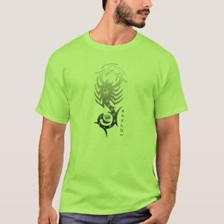 Camiseta verde do scorpio