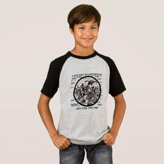 Camiseta Vida do lago, eu preferencialmente estaria no