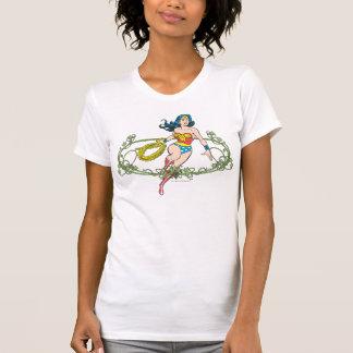 Camiseta Videiras verdes da mulher maravilha