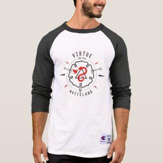 Camiseta Virtude no basebol T da área deserta