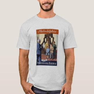 Camiseta Visita Philadelphfia na estrada de ferro de