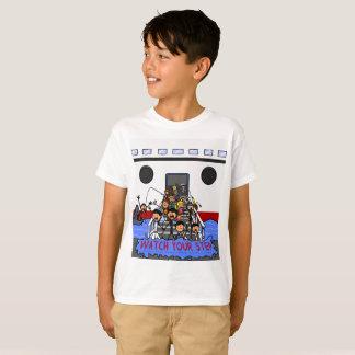 Camiseta Visitantes do navio de cruzeiros de Cayman Islands