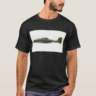 Camiseta Viúva negra de Northrop P-61