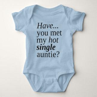 Camiseta você encontrou meu único auntie quente?