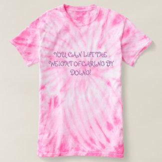Camiseta Você pode levantar o peso do inquietação fazendo