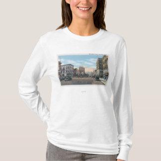 Camiseta Wenatchee, cena da avenida de WashingtonWenatchee