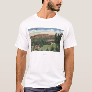 Camiseta Wenatchee, WashingtonView de Ohme jardina # 2