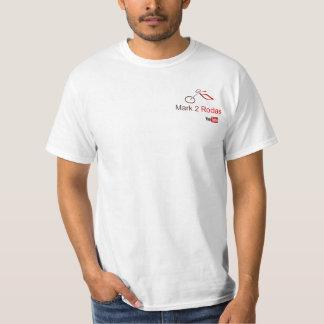 Camiseta White Mark2Rodas Small YouTube