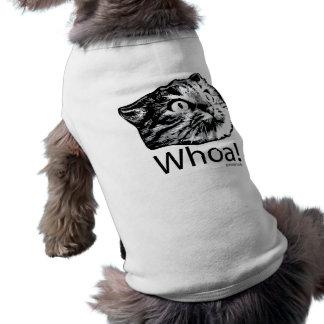 Camiseta Whoa um t-shirt do cão!!
