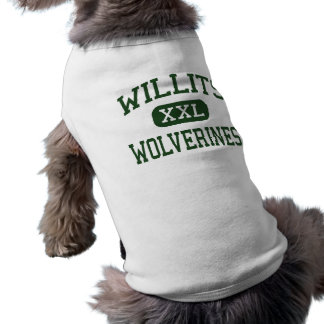 Camiseta Willits - Wolverines - alto - Willits Califórnia