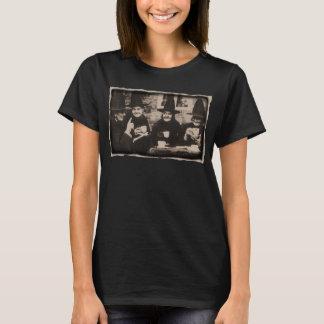 Camiseta Witches Tea festa - old black/white