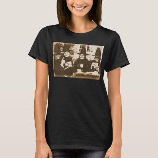 Camiseta Witches Tea festa - sepia