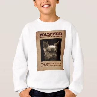 Camiseta Yorkie jovem quis a camisola da criança