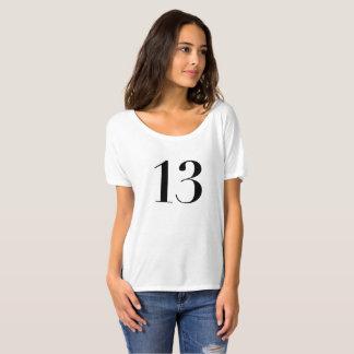 Camisetas 13 afortunados