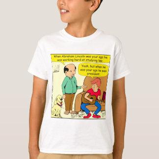 Camisetas 812 quando Lincoln era seus desenhos animados da