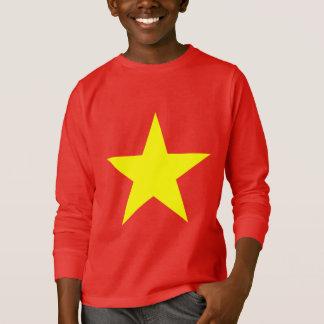 Camisetas A bandeira de Vietnam caçoa a camisola