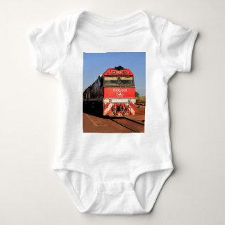 Camisetas A locomotiva do trem de Ghan, Darwin