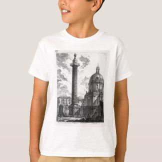 Camisetas A vista das duas igrejas essa chamou o Madonn