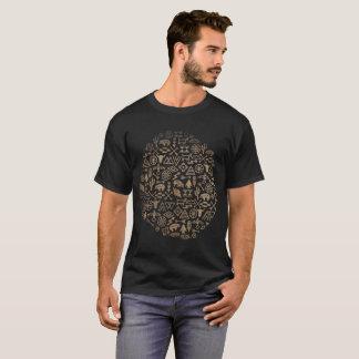 Camisetas Abstrato tribal do registro