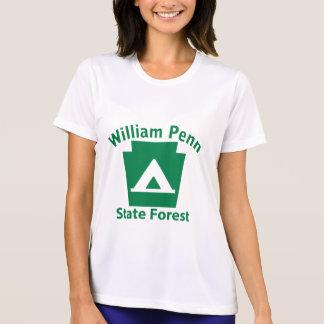 Camisetas Acampamento de William Penn SF - o Microfiber T