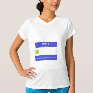 Camisetas Activewear do nome de etiqueta do tênis