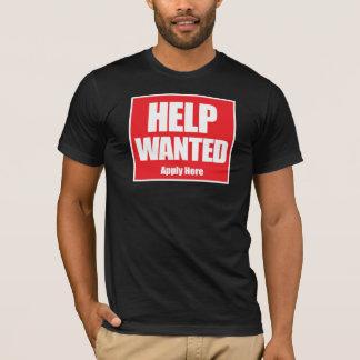 Camisetas Ajuda querida - aplique dentro