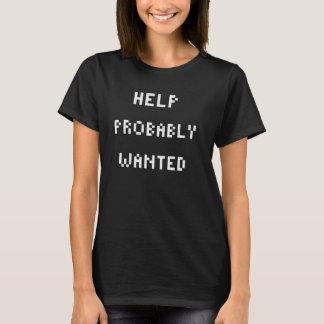 Camisetas Ajuda querida provavelmente