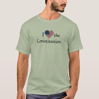 Camisetas americano-bandeira-coração-grampo-arte, I,