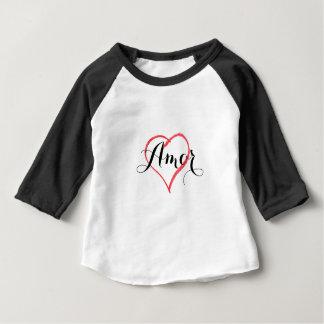 Camisetas Amor com coração - personalize