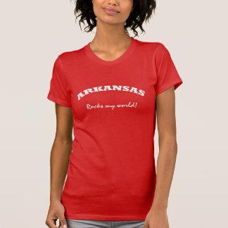 Camisetas Arkansas balança meu mundo
