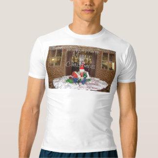 Camisetas Arte inspirada afastada do primeiro Natal