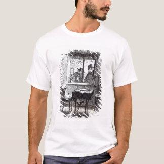 Camisetas As monges e o judeu descobrem Oliver