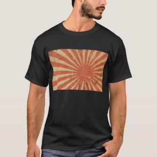 Camisetas Ascensão impressionante Sun da bandeira japonesa