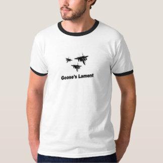 Camisetas Ataque aéreo da lamentação do ganso