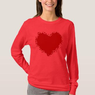 Camisetas Atração do coração