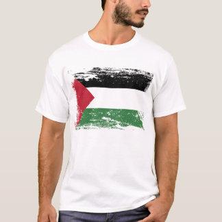 Camisetas Bandeira de Palestina do Grunge