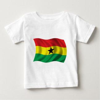 Camisetas Bandeira ondulada de Ghana