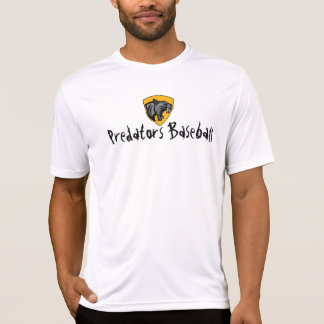 Camisetas Basebol dos predadores