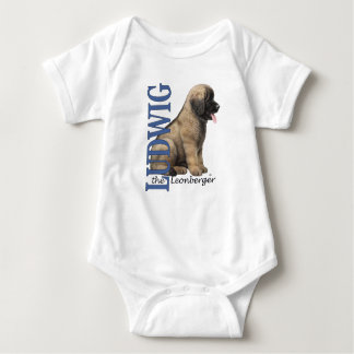 Camisetas Bebê Ludwig o Bodysuit do filhote de cachorro de