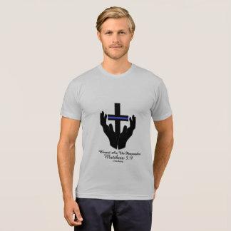 Camisetas Blessed é o cristão do 5:9 de matthew dos