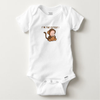 Camisetas Body Algodão Bebé Gracioso