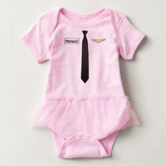 Camisetas Bodysuit piloto personalizado, roupa da aviação
