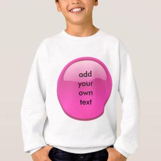 Camisetas botão cor-de-rosa