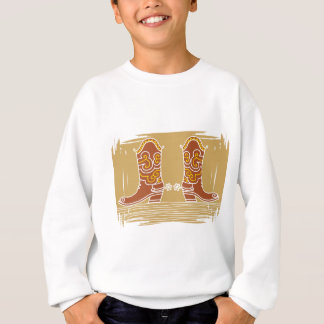 Camisetas Botas de vaqueiro